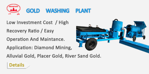 GOLD WASHING PLANT