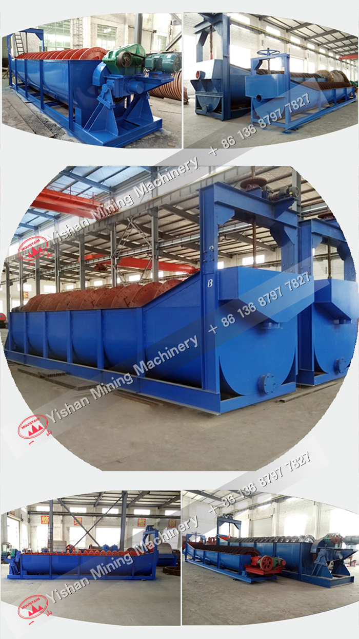 High Weir Type Screw Classifier